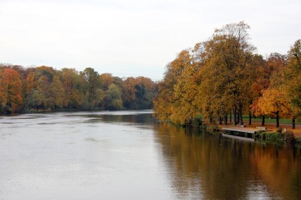 The Donau/Danube River