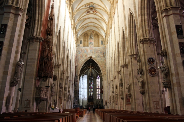 The Münster...from the interior.