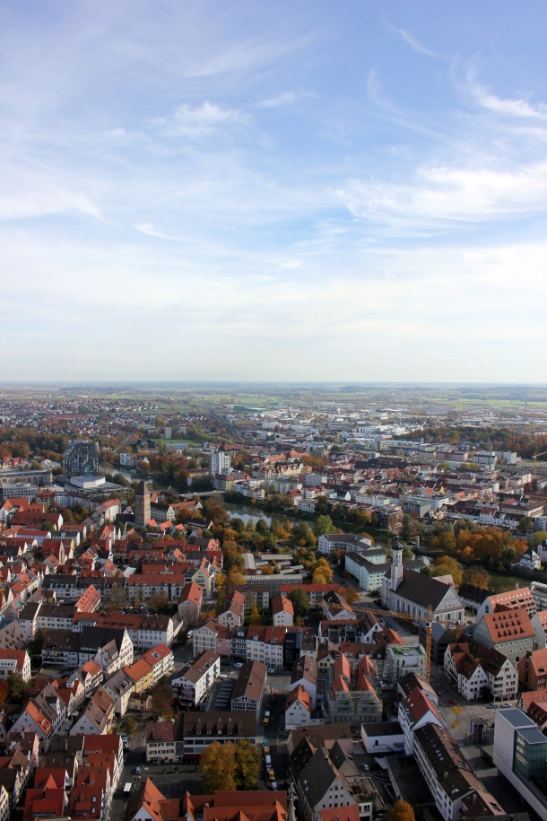 Ahhh yes. Ulm from above.