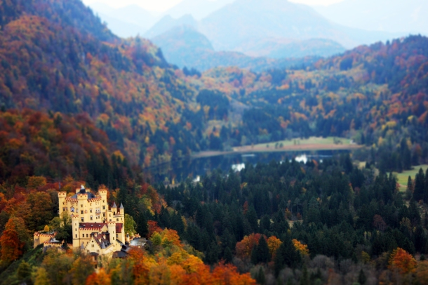 Hohenschwangau Castle, Füssen, Germany. Not the best example, but still a pretty photo...so whatevs. ;)
