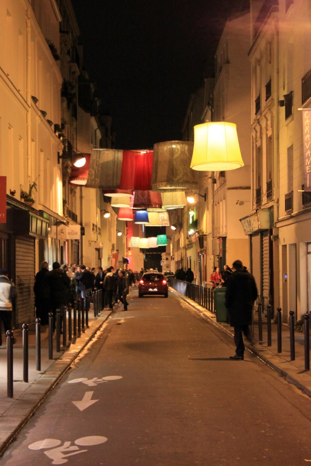 Lampshade Alley is how this street shall forever be known to me. If I in fact ever find it again.