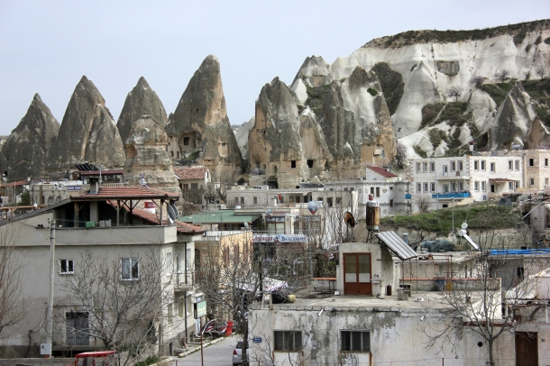 Passing through Pigeon Valley in Cappadocia, one of the more photogenic parts.