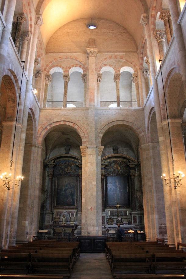 Side-chapel in St. Sernin.