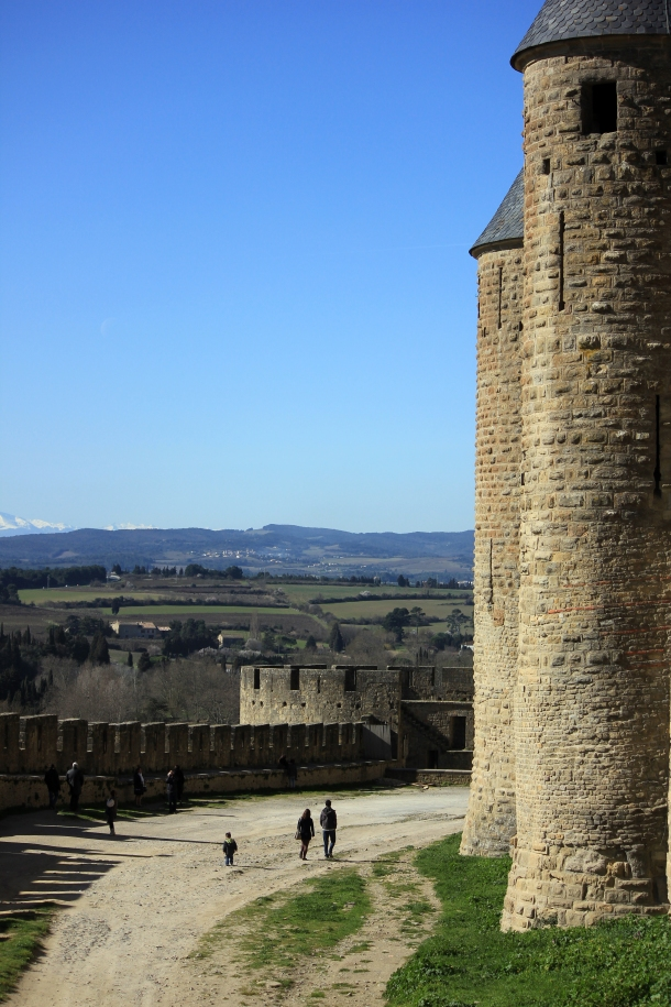 Outer walls-thought the people made for a nice comparison with the height!