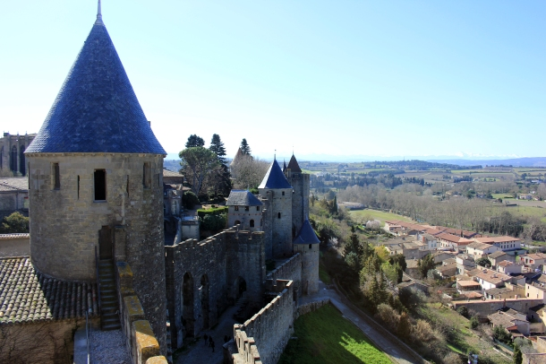 Several layers of castle to explore, to see all one should definitely wear comfy shoes and afford lots of walking time!