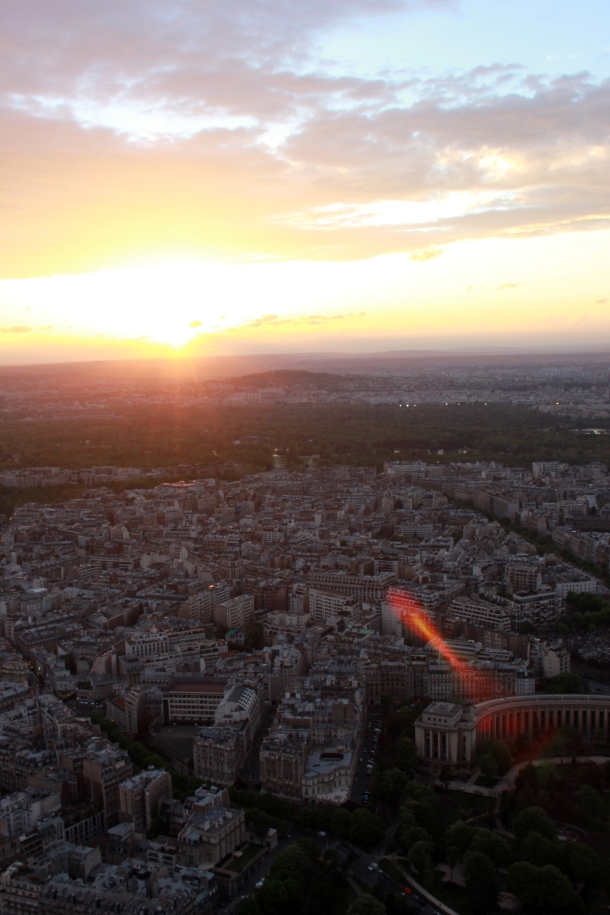 From the 3rd floor of la Tour Eiffel.