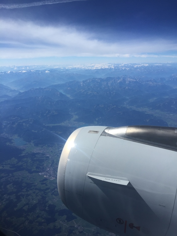 Flying over Germany. Pretty easy on the eyes.