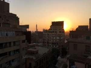 Another sunset from the hostel rooftop.