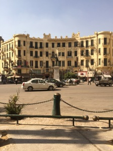Talaat Harb Square, which is the nearest roundabout to my hostel. There are some lovely colonial buildings in the area, although many look pretty dilapidated from the outside.
