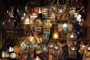 Bizarre and the Bazaar: Khan al-Khalili and 100posts.