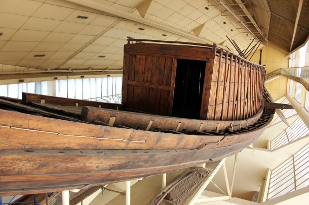 This is actually an insanely massive boat. The archaeologist in me was really impressed by the amount of preservation as well as the skill of restoration.
