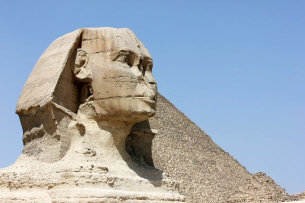 Honestly the sphinx pissed me off more than anything. All those PERFECT lines and angles, and you can't get the HUMANoidanimalthing proportioned correctly?!